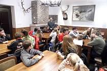 Místní kol mezinárodní přírodovědné soutěže YPEF (Mladí lidé v evropských lesích), které se konalo v roce 2019 na Skelné huti v Ralsku.