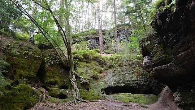 Braniborská jeskyně láká kprozkoumání.