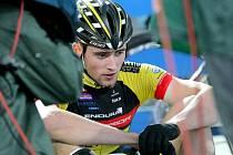 Český biker Kryštof Bogar obsadil šesté místo ve sprintu Světového poháru v Novém Městě na Moravě.