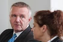 Vladimír Grösser před jednáním soudu.