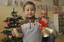 Tříletý Vladimír Kasl musí vánoční svátky strávit v nemocnici