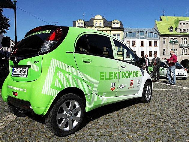 Elektromobil.