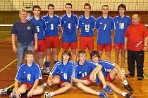 Volejbalový tým Lokomotiva Č. Lípa.