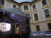 19. ročník Noci s hvězdami se již potřetí uskutečnil na vyhořelém zámku Zahrádky.