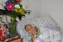 Marie Kchalupnik, o kterou se doma starají její vnučka a dcera, oslaví v březnu již neuvěřitelné 101. narozeniny.