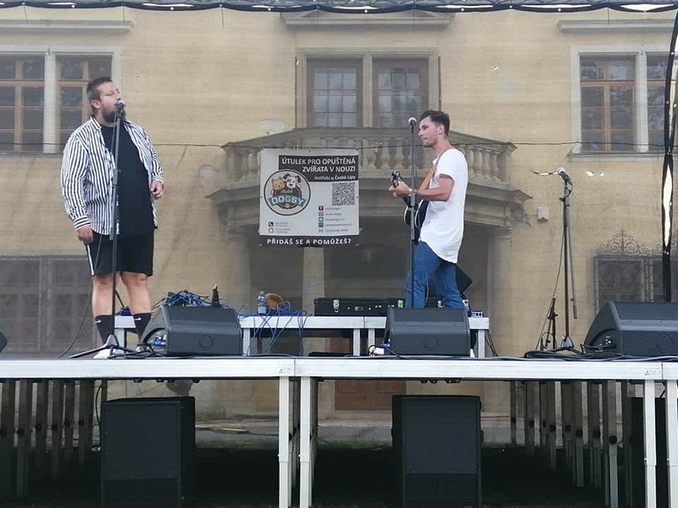 Festival podpořil útulek. Na akci vystoupil Jakub Děkan.
