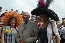 Mimoň slavila svůj den v areálu dostihového závodiště. Mezi návštěvníky byl i prezident republiky Václav Klaus.