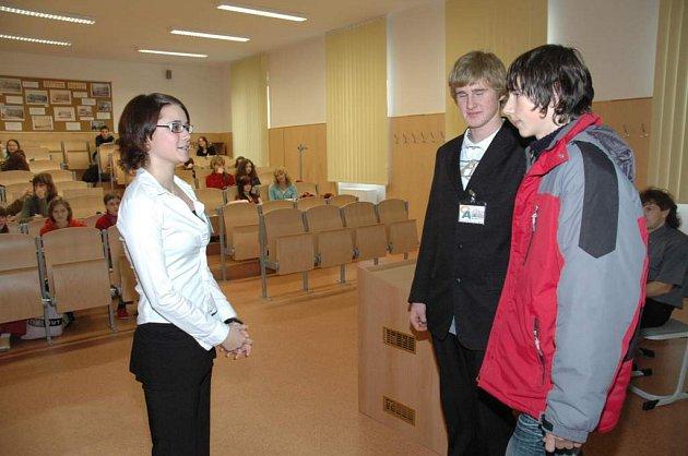 Den otevřených dveří v OA v České Lípě