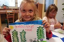 Předškoláci ze ZŠ Lada si připomněli Den stromů.