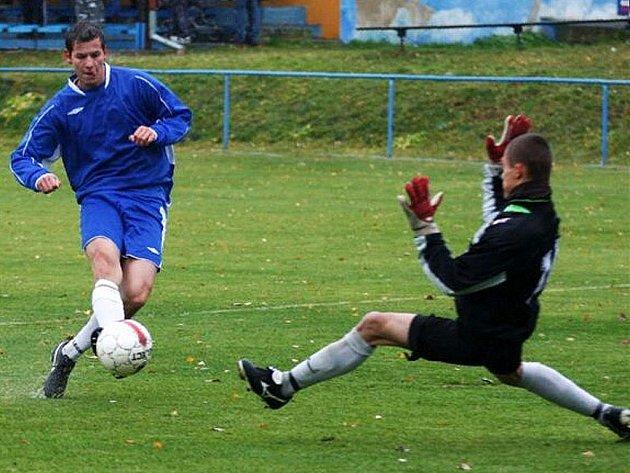 Nedělní zápas mezi Skalicí a Mimoní se vydařil domácím.