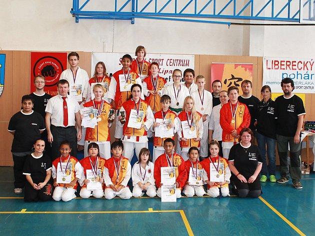 SSC Česká Lípa uspořádal soutěž s názvem Liberecký pohár.