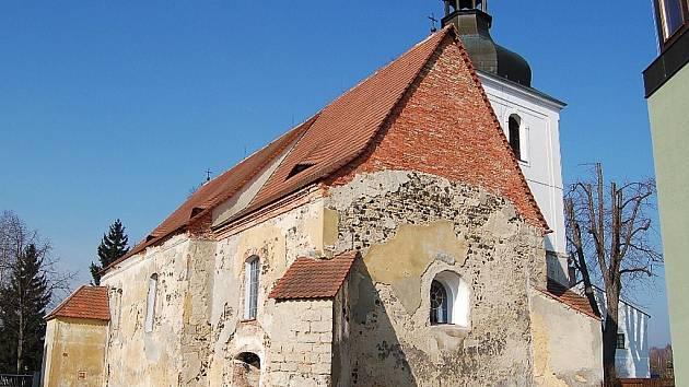 Kostel sv. Havla v Ralsku - Kuřívodech.