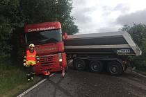 Dopravní nehoda u Zákup