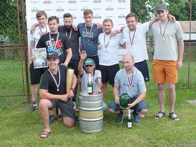 Vítězné mužstvo Klášter Cupu 2017.