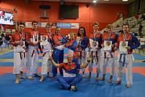 Karate Sport Relax Česká Lípa vyhrál v minulém roce kolektivy mládeže.