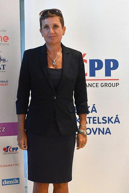 Jindřiška Halasníková, starostka obce Sosnová.