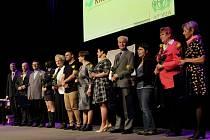Všichni ocenění i letos nominovaní dobrovolníci.
