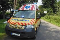 Řidič octavie zahynul při havárii u obce Tuháň.