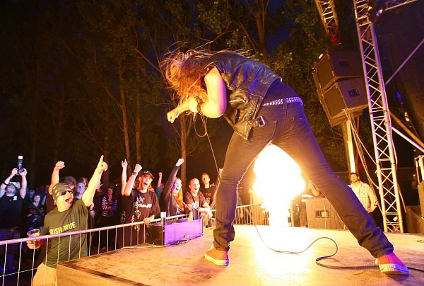 Thunderbolt zNorska na českolipském festivalu Stonerock 2013.