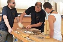 Novoborští skláři umějí vyrobit i dřevěné formy.