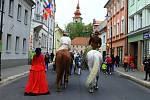 Druhý sraz historických a retro kočárků uspořádal v sobotu Spolek historie Mimoňska.