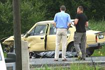 Na cestě ze Zákup do České Lípy zahynul pětačtyřicetiletý motocyklista.