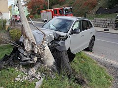Zdrogovaný řidič ujížděl policistům v kradené audině.