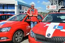 Na snímku instruktor autoškoly Jan Černý.