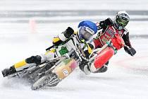 Finále Mezinárodního mistrovství České republiky v ledové ploché dráze se jelo na zamrzlé hladině jezera v Hamru na Jezeře. Závodu se zúčastnili i jezdci z Rakouska, Švýcarska a Velké Británie.