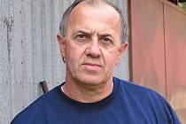 Kamil Šourek, trenér fotbalistů TJ Staré Splavy.