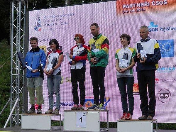 Jaroslav Krejčí doběhl druhý.
