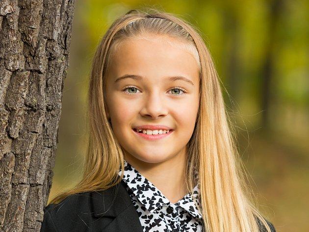 3. Adéla Jantačová - 12let, Česká Lípa.