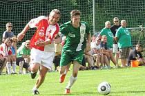 V rámci oslav 70. výročí založení fotbalového oddílu v Jablonném v Podještědí sehrál místní Tatran přátelské utkání se starou gardou Slavie Praha.