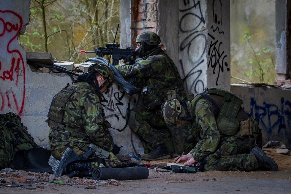 Zhruba 300 českých a amerických vojáků nacvičovalo  28. dubna dobytí letiště Hradčany ve vojenském prostoru Ralsko na Českolipsku v rámci dvoudenního cvičení Saber Junction 2017. Cílem cvičení bylo natrénovat postupy i spolupráci s americkými jednotkami.