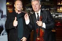 Michal Dvořák a Jaroslav Svěcený a jejich společný projekt Vivaldianno poprvé v Lucerně! Už ve čtvrtek 28. listopadu.
