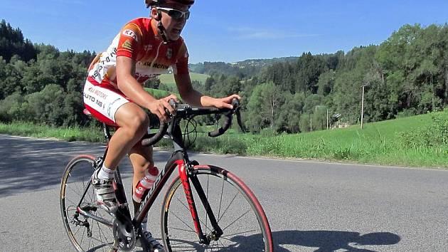 Šestnáctiletý Radek Kuchařík je velkým talentem českolipské cyklistiky.