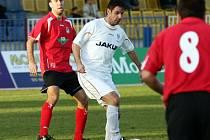 Na fotbalové schopnosti a zkušenost Josefa Obajdina budou jistě jeho spoluhráči v dnešním zápase opět spoléhat.