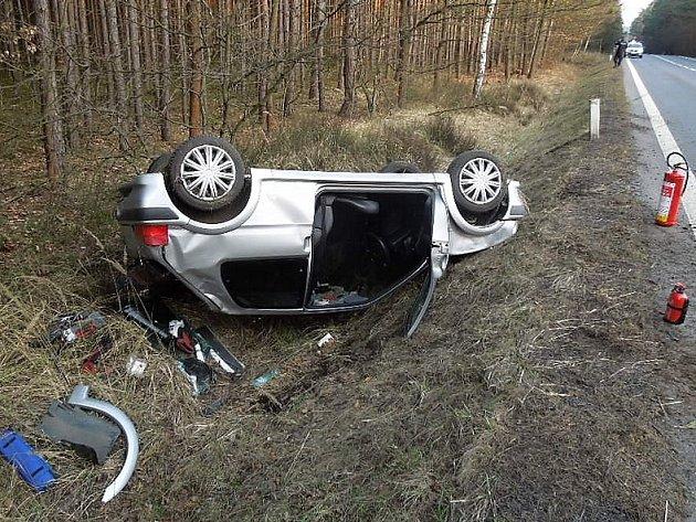 Úterní nehoda uObory.