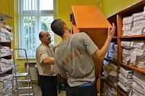 Odsouzení pomáhají se stěhováním v sídle probační a mediační služby v České Lípě