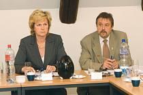 Stanislava Silná a Jindřich Mareš