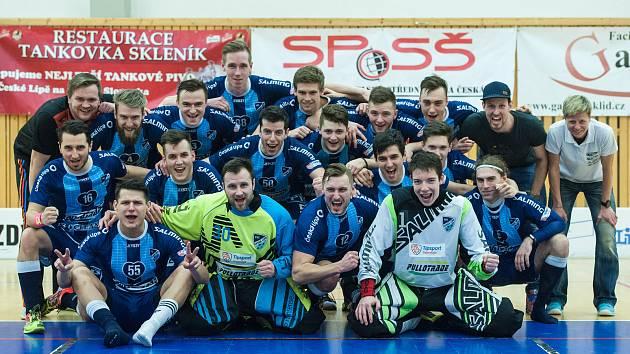 Česká Lípa florbal superliga sport FBC 4Clean x Sparta 4:11 Lípa se udržela v superlize