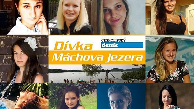 Finále třetího ročníku soutěže Dívka Máchova jezera se koná v sobotu 5. září.