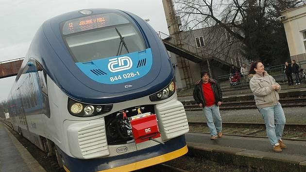 Nové vlaky poskytují komfort, jaký železnice na Českolipsko nepoznala.