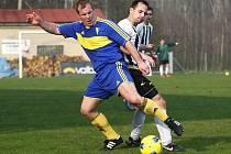 Fotbalisté Mimoně nemají dobrou sezonu, jsou na sestupu z krajského přeboru a vypadli z pohárové soutěže.