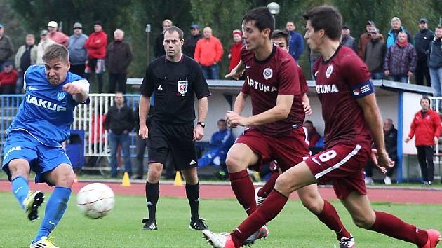 Arsenal Česká Lípa – Sparta Praha B 1:2 (1:0).