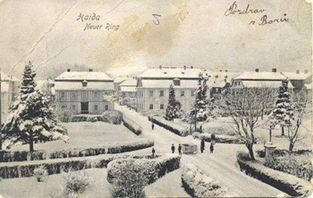 Výstava starých pohlednic