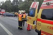 Teprve šestnáctiletý chlapec se vážněji zranil při dopravní nehodě u obce Stružnice v pondělí odpoledne.