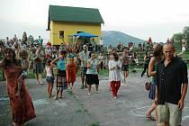 Děti i dospělí si mohli v celodenním programu Festivalu jurt najít něco pro sebe.