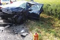 Úterní vážná nehoda u Doks.