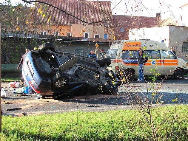 Listopadová tragická nehoda v České Lípě.